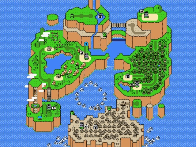 Super Mario World - Mapa Original