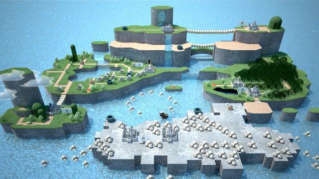 Super Mario World - Mapa 3D