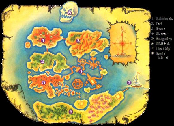 Mapa Equinox